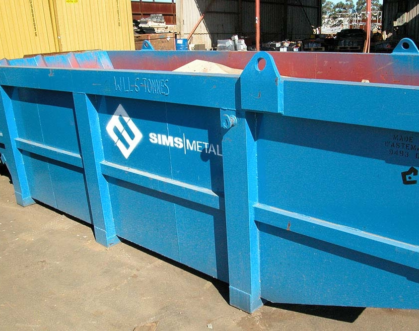 Simms Metal Bins